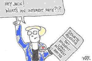 Senator Elizabeth Warren Proposes Bank on Students