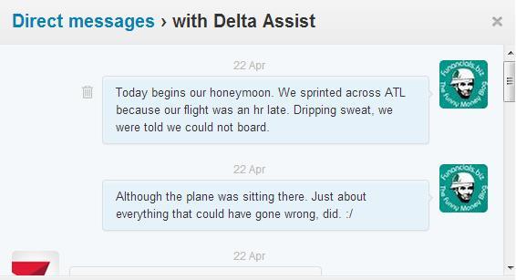 Delta Assist Conversation 1