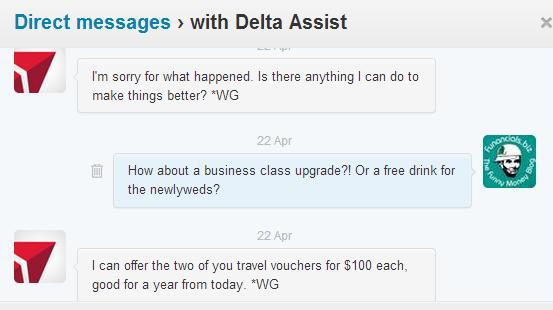 Delta Assist Conversation 2